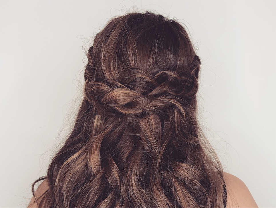 braids, braid crown